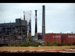 JISCO Alpart plant in Nain, St Elizabeth.