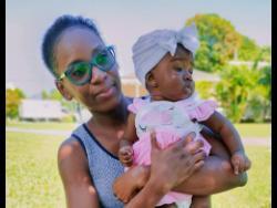 Jadeene Burnett and her daughter Jhenesa Didia