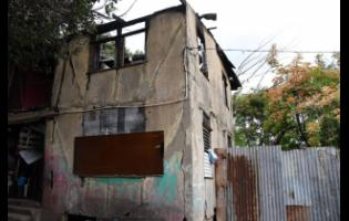 The upper section of this house that was once the dwelling of reggae icons Bob Marley and Bunny Wailer was destroyed by fire last Saturday.
